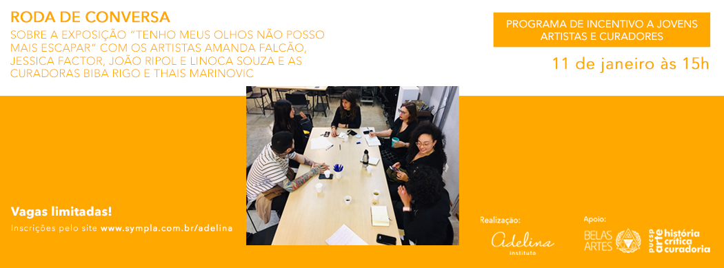RODA DE CONVERSA COM ARTISTAS E CURADORES DA EXPOSIÇÃO