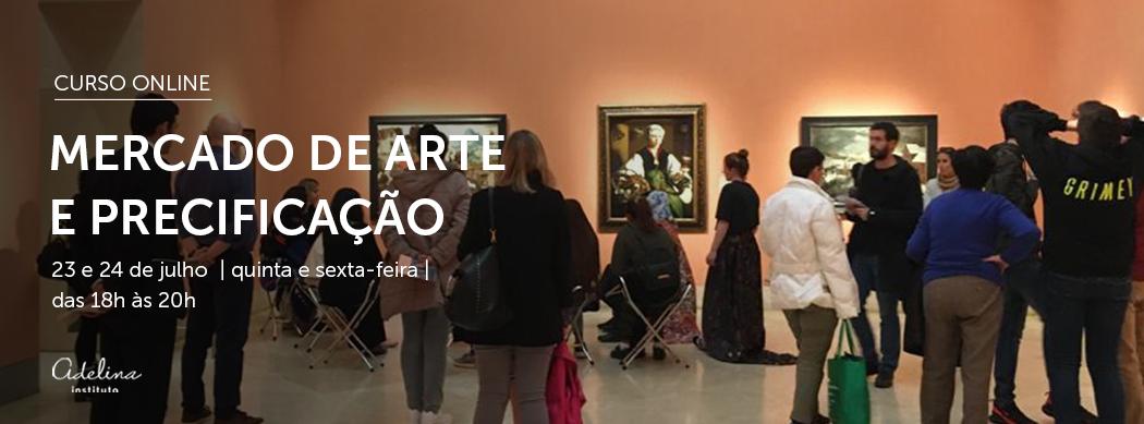 CURSO ONLINE Mercado de Arte e Precificação
