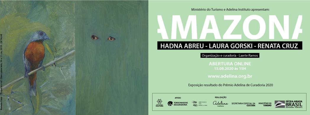 Instituto Adelina | EXPOSIÇÃO AMAZONA | Prêmio de Curadoria