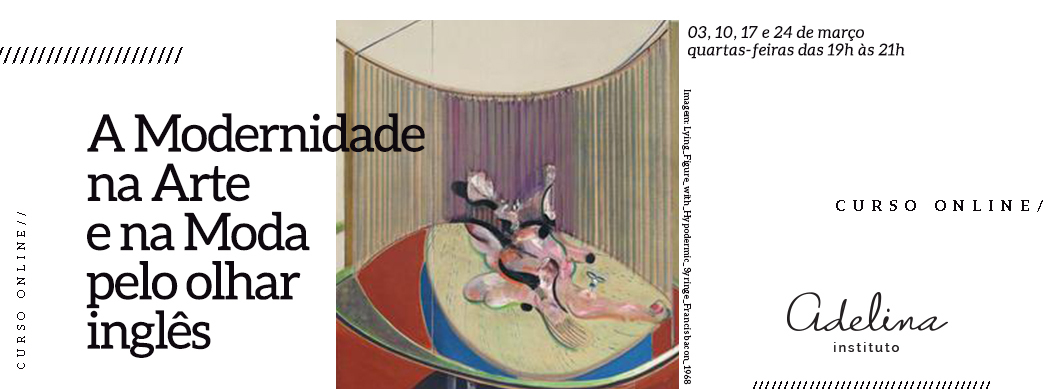 A modernidade na arte e na moda pelo olhar Inglês